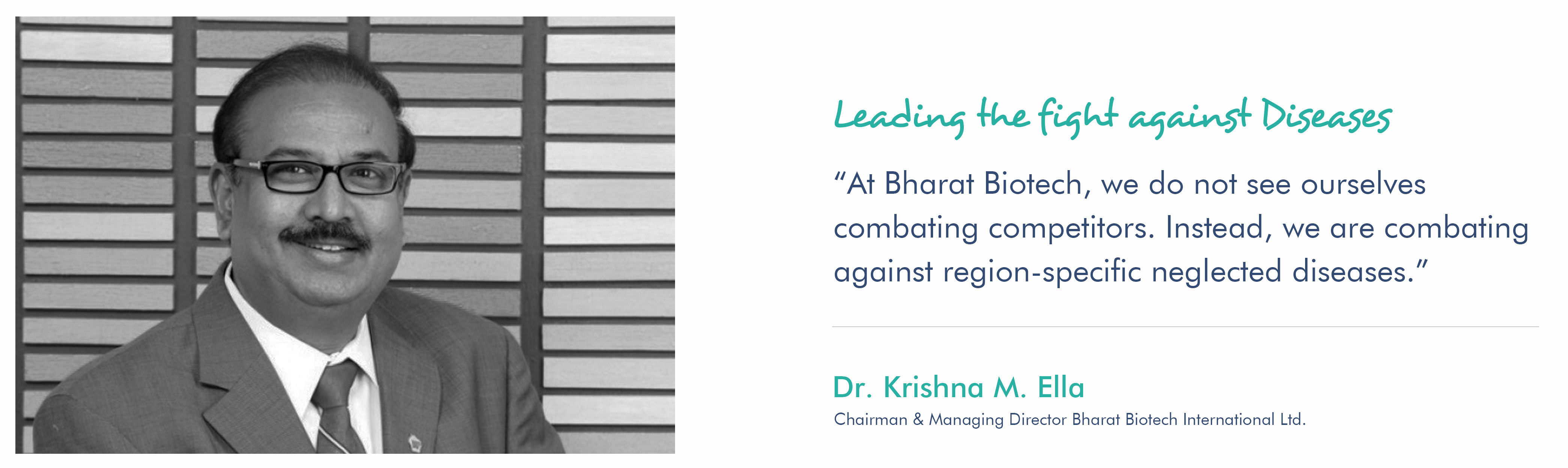Bharat Biotech-Vaccines & Bio-Therapeutics Manufacturer in India