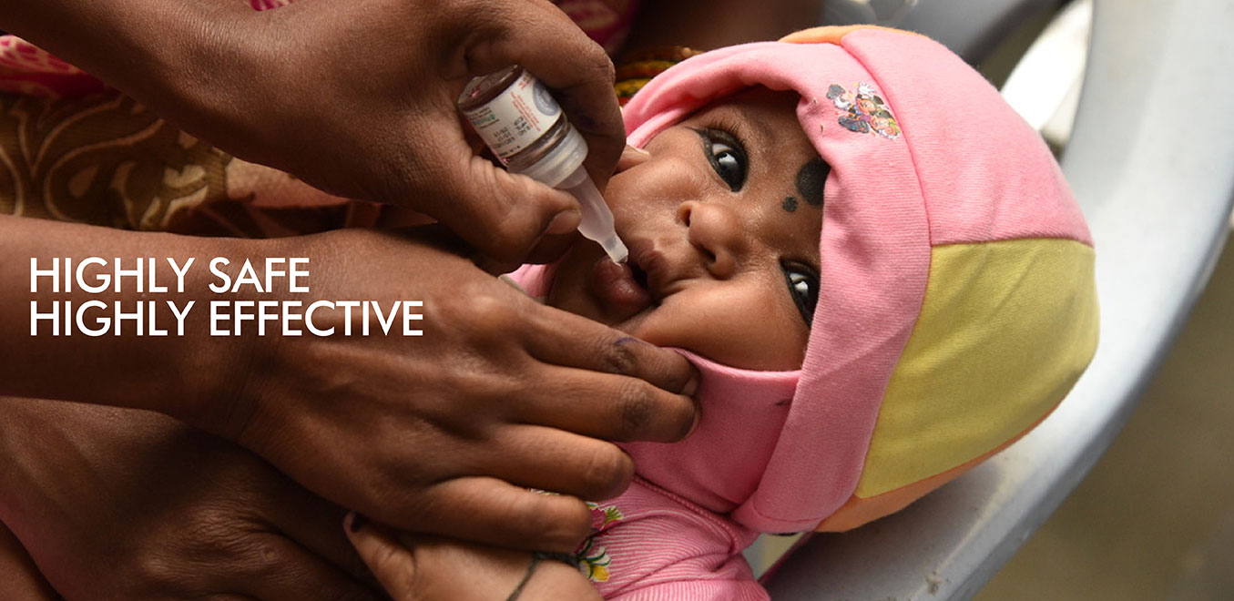 Highly safe and effective vaccine